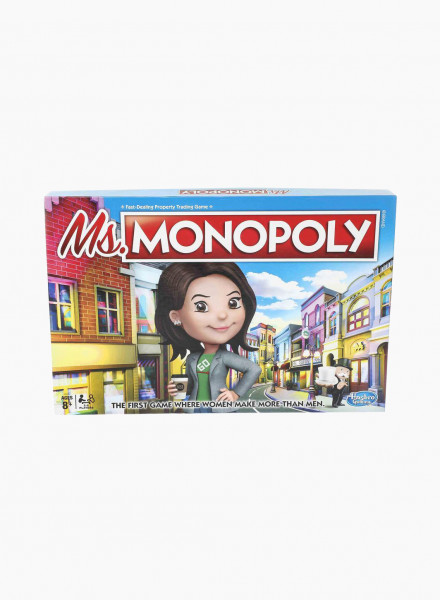 "Board Game ""Ms. Monopoly"""