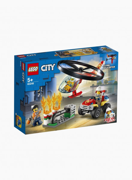 """City Constructor """"Fire Helicopter Response"""""""
