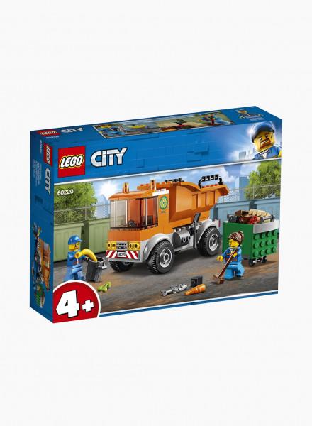 City Կառուցողական Խաղ «Աղբատար ավտոմեքենա»