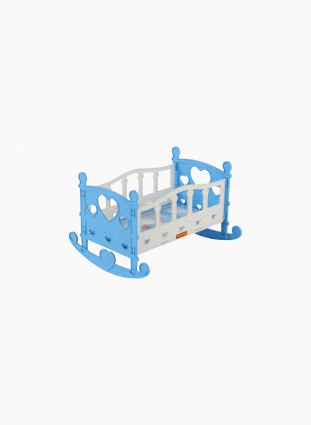 Rocking crib for dolls №2