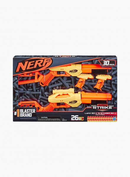 "Blaster NERF ALPHA STRIKE ""LYNX AND STGER MULTI PK"""