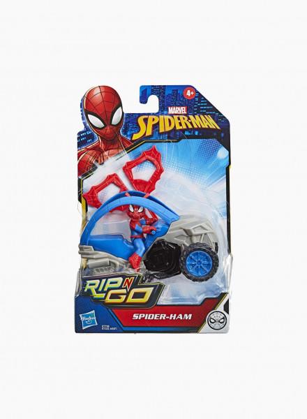Marvel Հերոսի Արձանիկ «Spider-Ham Հնարքների Մեքենան»