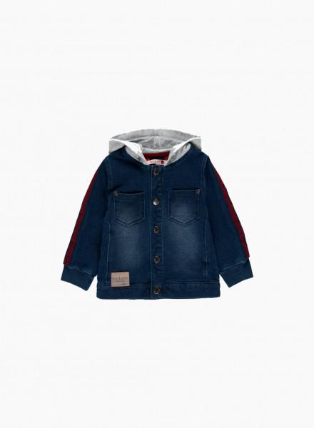 Джинсовая куртка с к