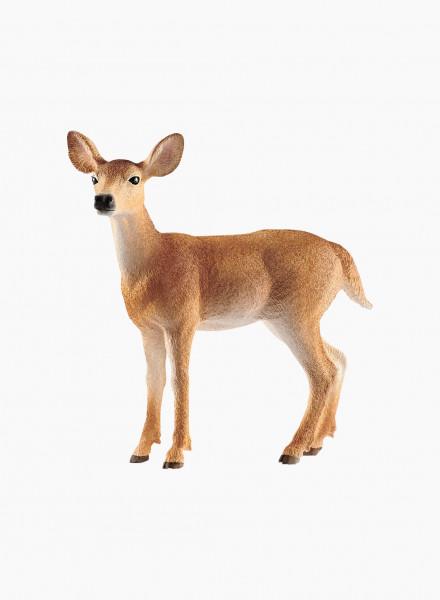"Animal figurine ""White-tailed doe"""