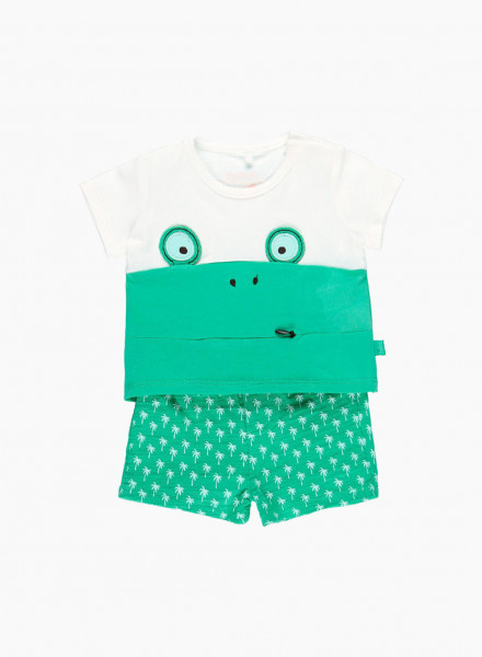 Kidswear Set: t-shirt and shorts