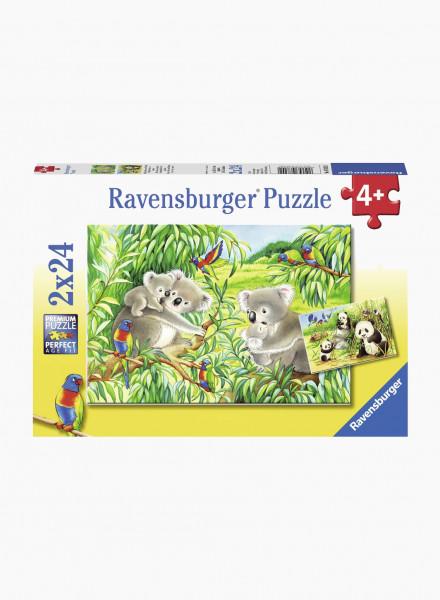 "Puzzle ""Koalas and Pandas"" 2x24p"