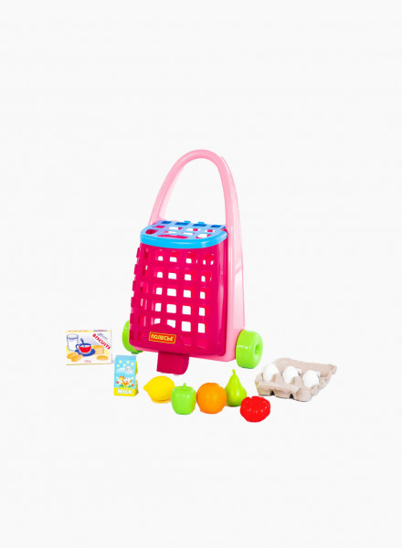 Funny trolley and product set
