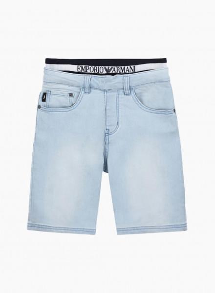 Double waist shorts