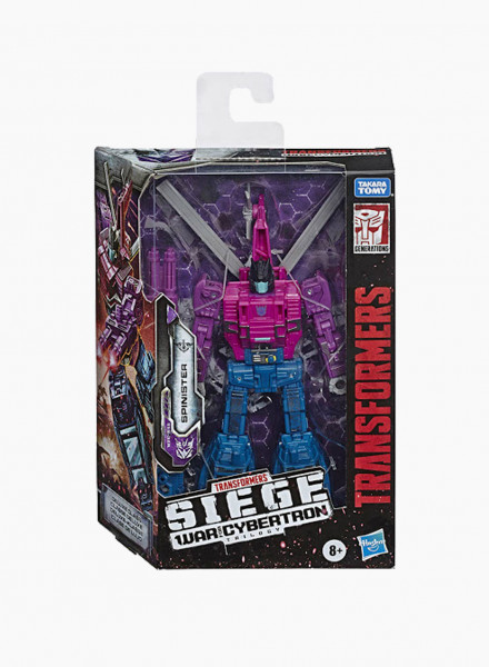 """Transformers Generations War for Cybertron Deluxe """"WFC S48 Spinister"""""""