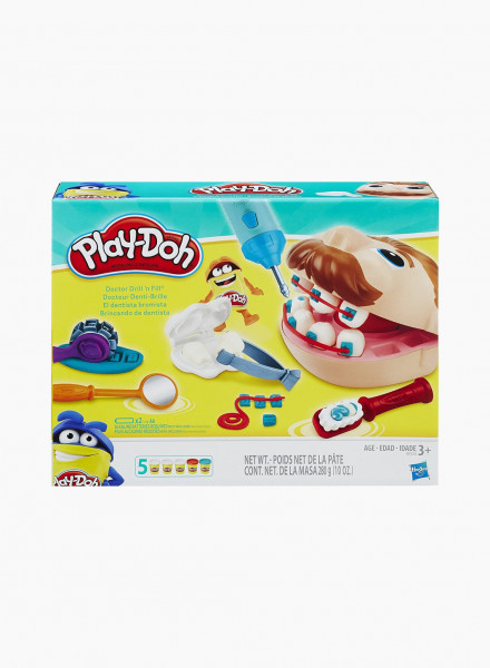 "Plasticine PLAY-DOH Set ""DOCTOR DRILL N FILL"""