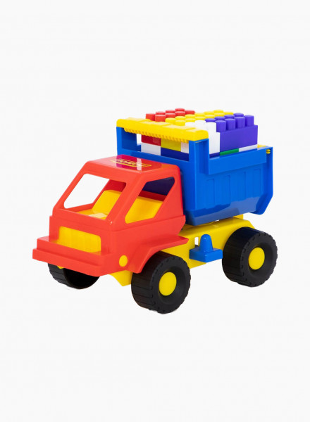 "Construction Machinery Set №16 (dump truck ""Kuzya"" and constructor ""Builder"")"