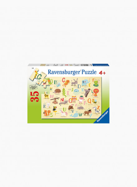 "Puzzle ""A-Z Animals"" 35p"