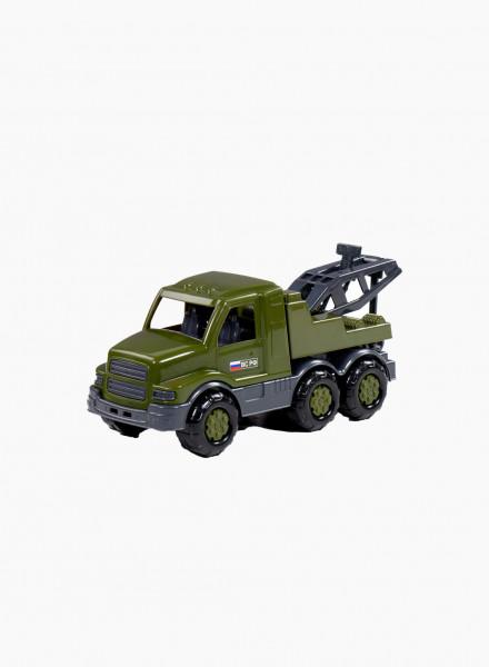 Զինվորական մեքենա՝ Հայաստանի դրոշով