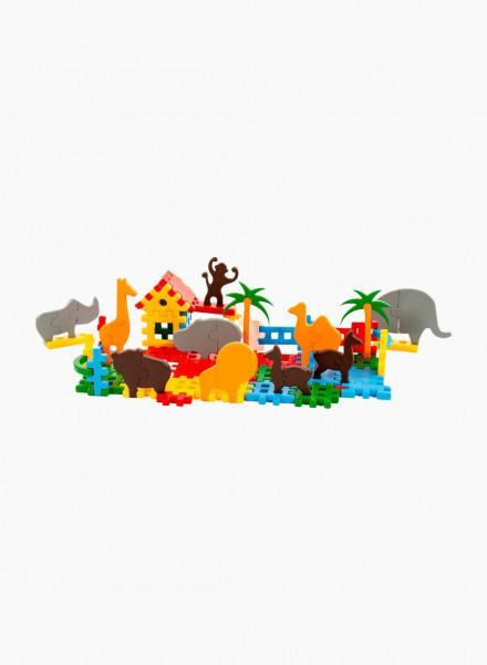 Կառուցողական խաղ «Կենդանաբանական այգի»