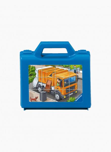 """Puzzle """"Favorite Vehicles"""" 12p"""