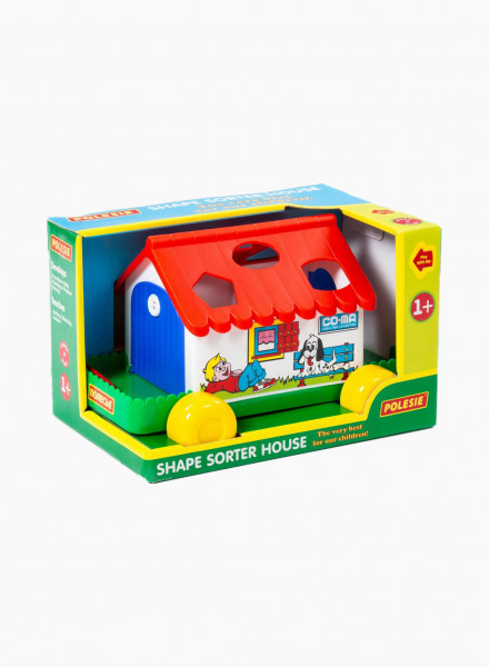 "Sorter Toy ""Shape and sort house"""