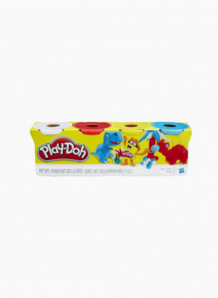 Plasticine PLAY-DOH 4 Pack