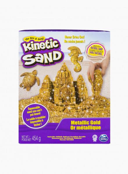 """Kinetic Sand """"Metallic gold"""""""