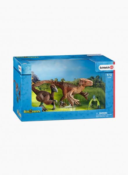 """Набор фигурок динозавров """"Пернатые рапторы"""""""